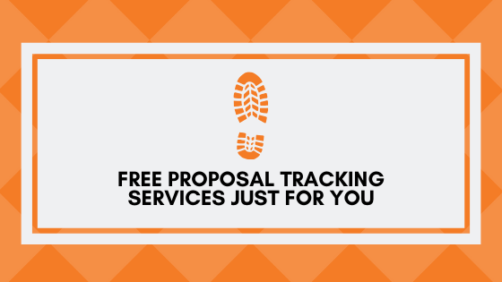 Free Proposal Tracking Services Just For You